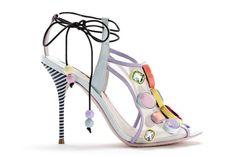 Sophia Webster Resort 2014 - Harper's Bazaar #shoes #art