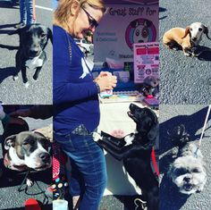 Enjoyed meeting new furiends at the farmers market. #pawsweetbakery