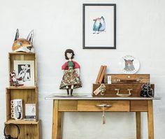Crafty Fox Market: CUT & PASTE Pop-Up Shop.  Photographer: Yeshen Venema