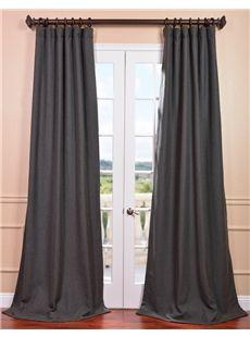 Half Price Drapes Poppyseed Heavy Faux Linen Curtain  , #HalfPriceDrapes  , #FauxLinenCurtain