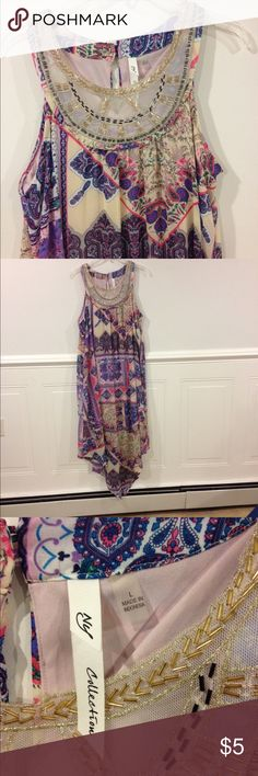 New York Collection Large Sundress Size Large New York Collection Sundress good condition New York Collection Dresses