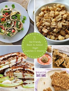 25 Kid Friendly Back to School Vegan Lunches and Snacks