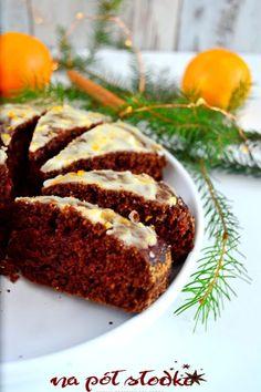 Szybki piernik z lukrem pomarańczowym bez cukru (wegański) - Na półsłodko Sugar Free Sweets, Sweet Cakes, Meatloaf, Granola, Oreo, Banana Bread, Cooking, Desserts, Sweet Dreams