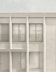 Sergison Bates . Clapham housing . London (1)