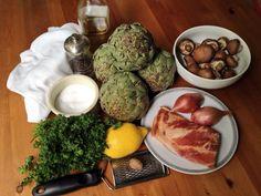 Historic Food Recipe: Artichokes Barigoule (1879) | The American Table #foodhistory