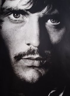 Terence Stamp (photo by Terence Donovan, 1967) about the time he played dashing cavalry officer Frank Troy in 'Far from The Madding Crowd' with Julie Christie