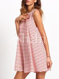 robe+bicolore+à+rayure++9.26