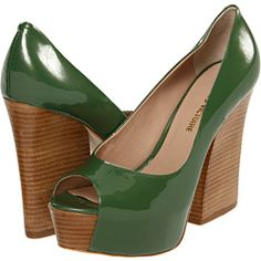 no skinny little heels here... I LOVE THESE