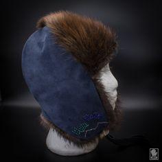 Beaded Musher Hat   Beaver + Beads — Boundary Fur Sewing