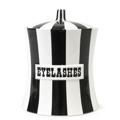In purple, of course. Boxes & Canisters - Eyelashes Canister