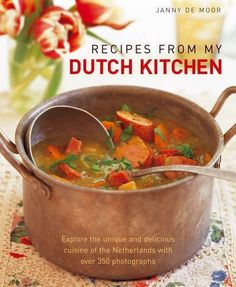 Recipes from My Dutch Kitchen: Explore the unique and delicious cuisine of the Netherlands with over 350 photographs by Janny de Moor. $10.29. 160 pages. Publisher: Lorenz Books (November 16, 2012). Publication: November 16, 2012. Author: Janny de Moor