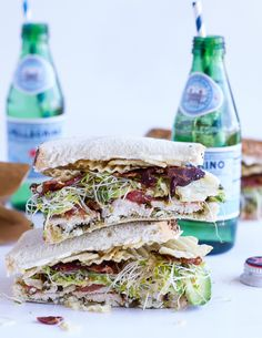 do-not-touch-my-food: Chicken and Avocado Sandwich with Bacon