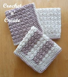 Cotton Dishcloth Free Crochet Pattern - Crochet 'n' Create