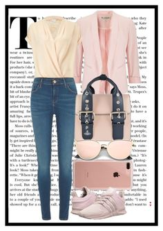 nude by francymayoli on Polyvore featuring polyvore fashion style Miss Selfridge River Island adidas Originals Vivienne Westwood Belkin clothing