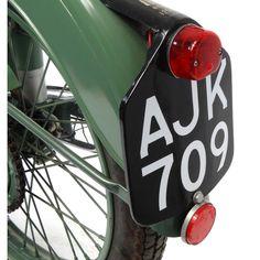 2002 - 1952 Green BSA Bantam motorbike, 15871 recorded miles, registration - AJK one recorded. 125cc Motorbike, Motorcycle Engine, Bsa Bantam, Motorbikes, Green, Vintage, Motorcycles, Vintage Comics, Motorcycle