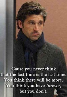 I no longer follow Grey's Anatomy, but Derek's death still hurts