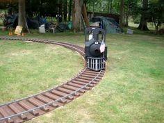 "Building a 14"" Wooden Backyard Railroad Train, Part 3 ..."