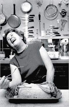 Julia Child — on this board a second time!