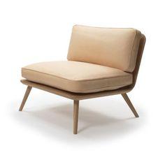 Moderner Kamin Sessel (Skandinavisches Design) SPINE LOUNGE by Space Copenhagen…