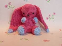 Resultado de imagem para long eared bunny stuffed animal to crochet free pattern