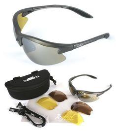 blue aviation sport sunglasses interchangeable lenses. Black Bedroom Furniture Sets. Home Design Ideas
