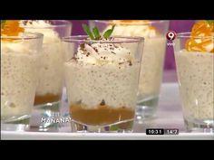 "(3) Receta dulce: quinoa estilo ""arroz con leche"" - YouTube Quinoa Salad, Vegan Vegetarian, Cravings, Food And Drink, Low Carb, Pudding, Keto, Healthy Recipes, Breakfast"