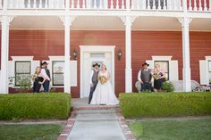 Photo by: http://lizbasseystudios.com/ bridal party - country wedding at Historic Oakdale Ranch