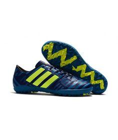 outlet store cdd49 10d33 Adidas Messi Nemeziz 17.1 TF Suola Per Erba Sintetica Scarpe Da Calcio  Bianco Blu