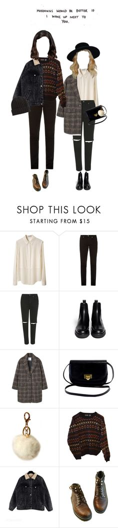 """187 ♡"" by cutefatboy ❤ liked on Polyvore featuring T By Alexander Wang, McQ by Alexander McQueen, Topshop, Marni, MANGO, IMoshion, INDIE HAIR, autumn, relationships and boyfriend"