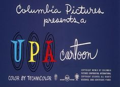 upa animation credits - Google Search The Reunion, Columbia Pictures, Coding, Logos, Learning, Animation, Google Search, Logo, Studying