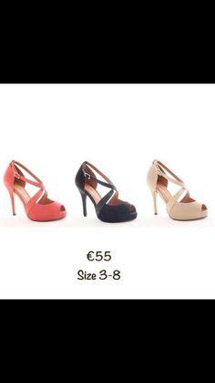 Kate Appleby €55 sizes 3-8 Therapy, Footwear, Heels, Fashion, Heel, Moda, Shoe, Fashion Styles, Shoes Heels