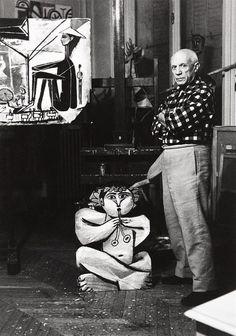 Pablo Picasso -LUCIEN CLERGUE