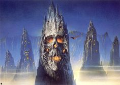 METAL ON METAL: Bob Eggleton, fantasy-horror art