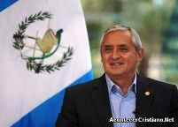 Guatemalan President Names Jesus Christ Lord of his Country 8-29-13 @yankinaustralia #guatemala #heislord