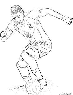 Coloriage Joueur De Foot Equipe De France.16 Meilleures Images Du Tableau Coloriage Joueur De Foot