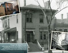 Springfield, IL. Virgil Hickox House (AKA Norb Andy's Tabarin). Courtesy of Springfield Rewind.