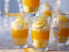 Verrines à la mandarineVoir la recette des Verrines à la mandarine