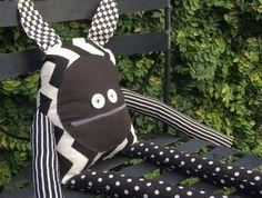 Ethel Mary Doll - Black & White
