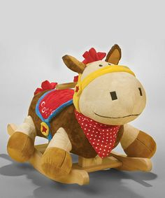 And this one...Colt Pony Rocker by Rockabye on #zulily today!