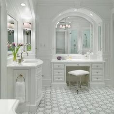 Mirror | Bathrooms | Pinterest | Bath, Master Bathrooms And Makeup Vanities
