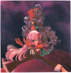 Anthy and Utena, by Chiho Saitou