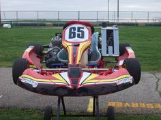 Tag Kart (Tag stand for start and go) the have a starter built in
