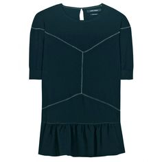 ae09d5a2d9 Isabel Marant Wheller Crepe Blue Top XS Teen Clothing Stores, Used Clothing,  Crepe Top