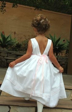 Beautiful clothes -- Pink or blue ribbons? Isabel Garretón Special Occasion Collection