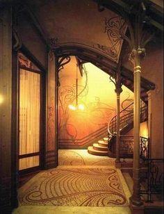 Hotel Tassel, Brussels by Victor Horta
