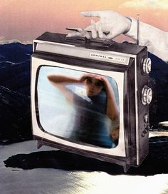 Erin Case: Idle Hours, 2013 www.kidsofdada.com/products/idle-hours #art #collage #telly #surreal