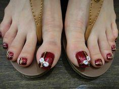 Pretty Feet by WuJingwen - Nail Art Gallery nailartgallery.nailsmag.com by Nails Magazine www.nailsmag.com