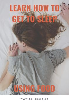 Learn the little known scientific fact that the food you eat can actually help you sleep and what you need to be eating to benefit! Sleep Issues, Positive Body Image, Sleep Help, Hiit, How To Fall Asleep, Personal Development, Fitness Tips, Health And Wellness, Life Is Good