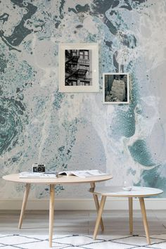 9 Faux-Marble Wallpapers That Will Transform Your Home - Murals Wallpaper