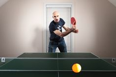 Learning how to return a ping pong ball well is one of the best ways to improve your game. Top 5 table tennis tips best-table-tennis. Table Tennis Game, Tennis Camp, Tennis Rules, Tennis Party, Tennis Gear, Tennis Tips, Tennis Clothes, How To Play Tennis, Tennis Pictures